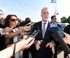 «C'est peut-être une habitude qu'on va prendre, on trouve que dans les caucus réguliers on n'a pas beaucoup de temps pour parler en détail de certains enjeux», a déclaré Philippe Couillard.