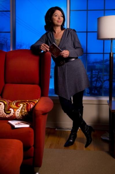 Grande entrevue avec Line Beauchamp chez elle