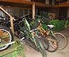 Les vélos verts sont mis en circulation dès la fin juin, partout sur le territoire de Dolbeau-Mistassini.