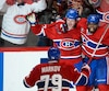 Première ronde de la série entre les Sénateurs d'Ottawa et le Canadien de Montréal du hockey de la LNH.