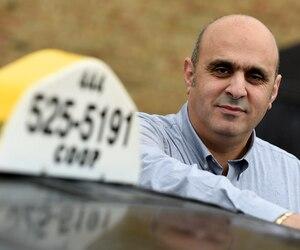 Le président du Regroupement indépendant des taxis de Québec, Abdallah Homsy