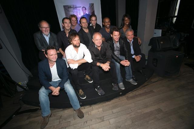 La distribution de la série télévisée Le Gentleman, diffusée à TVA les mercredis à 21h, s'est réunie afin de souligner le début de la troisième saison.