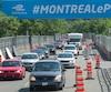 La circulation est restée dense comme à l'heure de pointe pendant toute la journée, jeudi, dans plusieurs secteurs du centre-ville de Montréal.