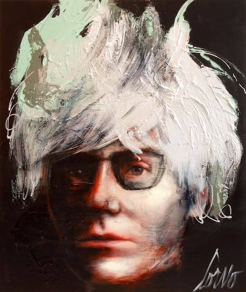 <i>Andy Warhol</i></br> (Série <i>Creative Chaos</i>)</br> Corno 2014</br> 72' x60'