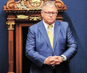 Le président de l'Assemblée nationale, Jacques Chagnon.