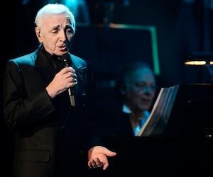 Charles Aznavour au Capitole de Québec en 2012