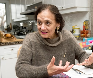 L'ex-ministre libérale Rita de Santis, qui nous a reçus à son domicile d'Outremont, ne s'ennuie pas de la politique.