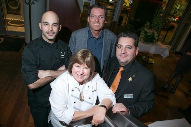 L'équipe du restaurant La Coupole.