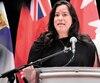 La ministre de la Justice du Canada, Jody Wilson-Raybould.