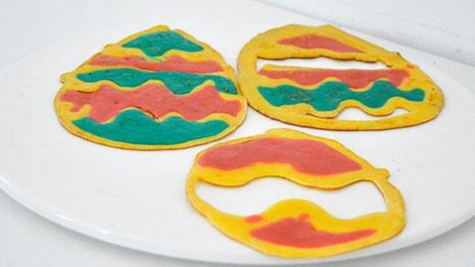 Image principale de l'article Recette: Crêpes en forme de coco de Pâques
