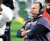 Au sein du personnel d'entraîneurs des Patriots, Matt Patricia a remporté trois fois le Super Bowl sous la férule de Bill Belichick, qu'il se prépare à affronter une première fois à titre de nouveau pilote des Lions. Les deux anciens collègues sont photographiés durant le dernier Super Bowl, en février.