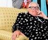 Mario Lirette est photographié une dizaine de jours après le dépôt d'accusation de fraude contre lui, enjuin. Pour l'occasion, il avait mis à l'encan cet habit étoilé, mais il n'avait pas trouvé preneur.