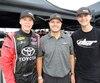 David Gilliland est très fier de ses protégés, Raphaël Lessard (à gauche) et son fils Todd, tous deux voués à un brillant avenir en stock-car aux États-Unis.