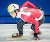 Médaillé de bronze aux Jeux de Sotchi, Charle Cournoyer participe aux sélections olympiques de l'équipe canadienne qui se terminent dimanche à Montréal.
