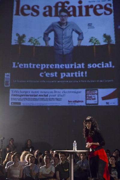 Géraldine Martin, éditrice adjointe et rédactrice en chef du magazine Les Affaires, revient sur la faute de frappe en couverture du numéro du 21 mars.