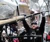 Le concours du Viking le plus fort au Canadaa clôturé la 64<sup>e</sup> édition du Carnaval de Québec. Jean-François Caron a remporté cette première édition haut la main.