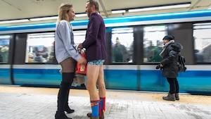 Image principale de l'article Il y aura des gens en «bobettes» dans le métro