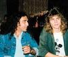 Gerry Boulet et son fils Justin au lancement de l'album Rendez-vous doux, le 15juin1988.
