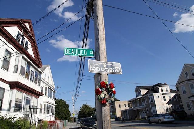 Plusieurs rues de Lowellportent des noms français.