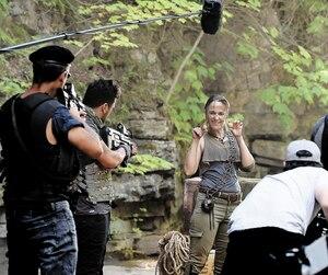 C'est lacomédienne et humoriste Cathleen Rouleau qui a eu l'idée de reproduire un univers inspiré du personnage Lara Croft.
