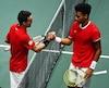 L'Espagnol Roberto Bautista et Félix Auger-Aliassime se sont livré un solide duel en finale à Madrid, hier.
