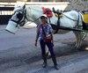 Charito Ermita, d'origine philippine, est arrivée au pays en 2002 et a commencé le métier de cochère deux ans plus tard.