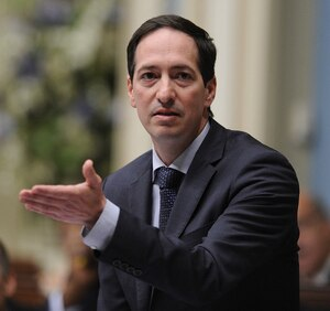 Stéphane Bédard, président du Conseil du trésor.