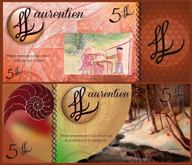 Voici à quoi ressemblera la monnaie des Laurentides.