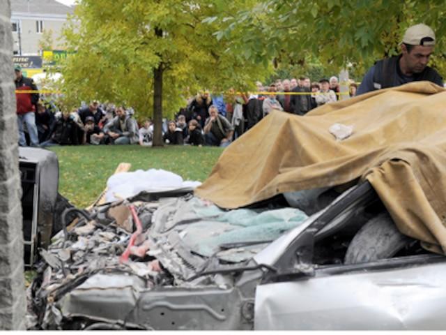 Deux morts dans une violente collision à St-Georges-de-Beauce.