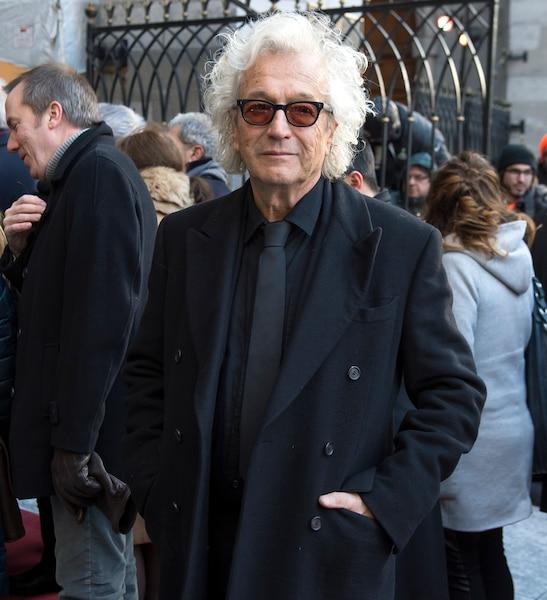 Luc Plamondon a évoqué 35 ans d'amitié avec René Angélil. «Il aimait la vie. C'est triste qu'on lui enlève si tôt», a-t-il déclaré.