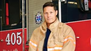 Image principale de l'article Frédérick De Grandpré: pompier d'un jour