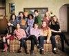 La famille Conner de l'univers de Roseanne... en des temps plus joyeux.