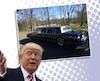 Cadillac limousine Donald Trump 1988