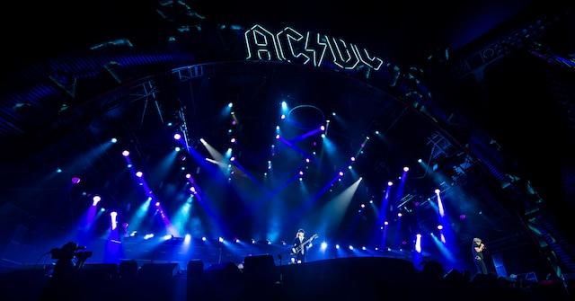 Le Groupe Australien AC/DC en prestation à Montréal dans le cadre de la tournée «ROCK OR BUST WORLD TOUR» au Centre Bell le lundi 31 août 2015.