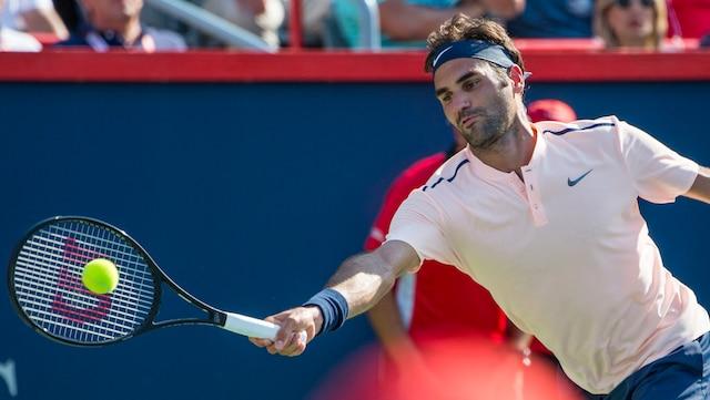 Roger Federer a atteint la finale de la Coupe Rogers grâce à une victoire en deux manches de 6-3 et 7-6(5) devant le Néerlandais Robin Haase.