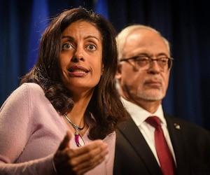 Dominique Anglade et Carlos Leitao