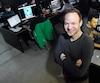 Denis Doré et Patrick Beaulieu (absent) ont fondé le studio d'animation Squeeze en 2011, à Québec.