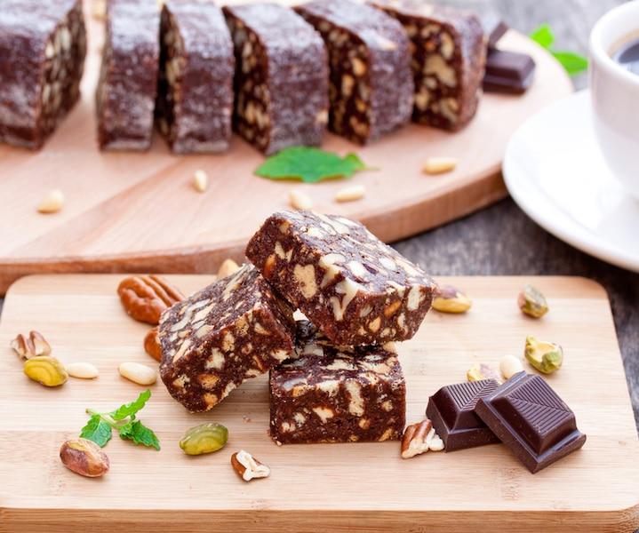 Brownies aux pépites de chocolat blanc et noix de coco