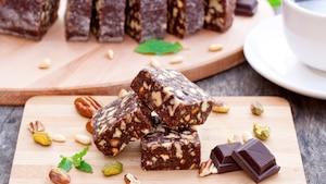 Brownies pépites de chocolat blanc et noix de coco