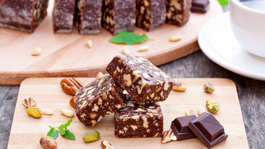 Image principale de l'article Brownies pépites de chocolat blanc et noix de coco