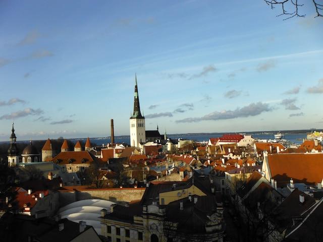 Tallinn, en Estonie.