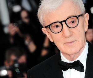 Woody Allen sur le tapis rouge du Festival de Cannes en 2016.