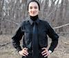 Sondos Lamrhari est la seule étudiante en techniques policières à porter le foulard.
