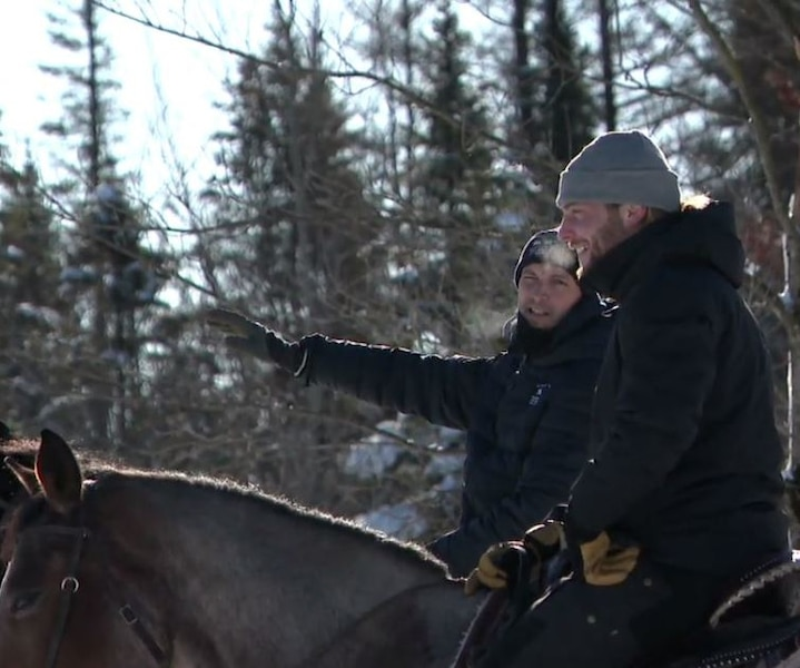 L'équitation hivernale: une activité à essayer!