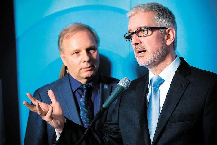 Jean-Martin Aussant sera présent pour la première fois au caucus des députés péquistes aujourd'hui, mercredi, à Québec.