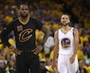 LeBron James et Steph Curry