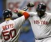 À 40 ans, rien ne semble vouloir ralentir pour David Ortiz, qui est un rouage important chez les Red Sox de Boston cette saison.