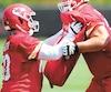 Ryan Hunter a hâte d'en découdre à l'entraînement pour démontrer à l'état-major des Chiefs qu'il a sa place dans l'alignement régulier.