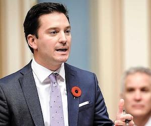 Le ministre de l'Immigration et leader parlementaire, Simon Jolin-Barrette, a dû répondre une fois de plus à des questions portant sur sa réforme de l'immigration, hier à l'Assemblée nationale.