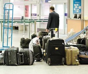 Des compagnies aériennes ne souhaitent pas dédommager encore plus, comme le veut la nouvelle charte des voyageurs, les passagers dont les bagages sont perdus, notamment à l'aéroport Montréal-Trudeau.